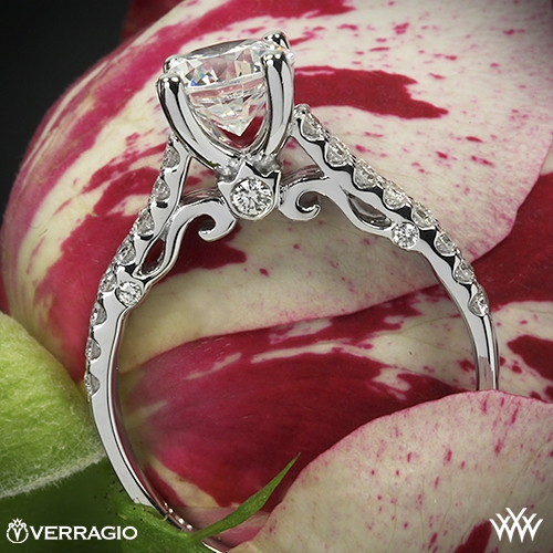 Verragio INS-7035 Dual Row Shared-Prong Diamond Engagement Ring