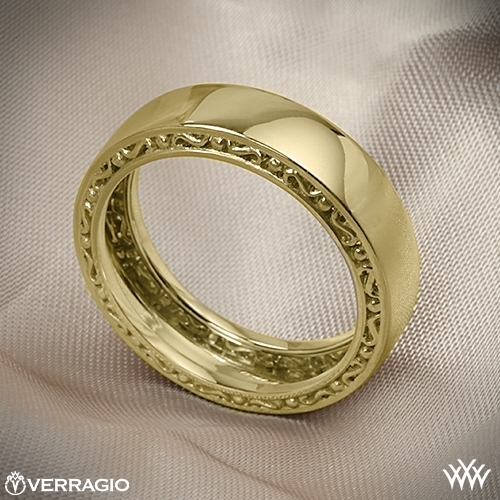 Verragio High Polish Wedding Ring 2033