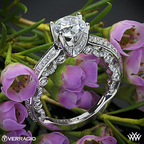 Verragio PAR-3001R Diamond Engagement Ring