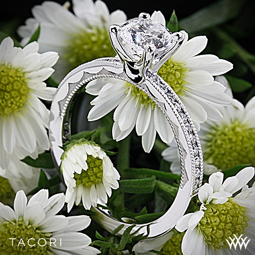 Tacori 44-1.5RD Sculpted Crescent Round Channel Diamond Engagement Ring