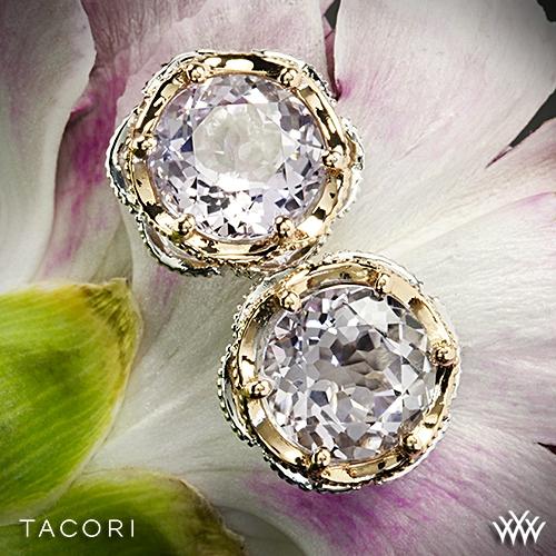 Tacori SE105P13 Blushing Rose Amethyst Earrings