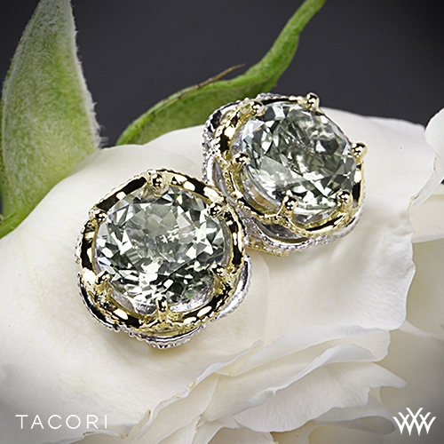 Tacori SE105Y12 Seafoam Mint Prasiolite Earrings