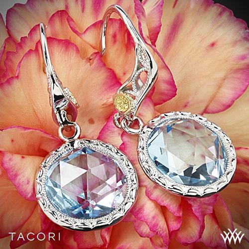 Tacori SE15502 Island Rains Sky Blue Topaz Dangling Earrings
