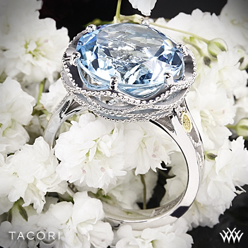 Tacori SR12302 Island Rains Sky Blue Topaz Ring