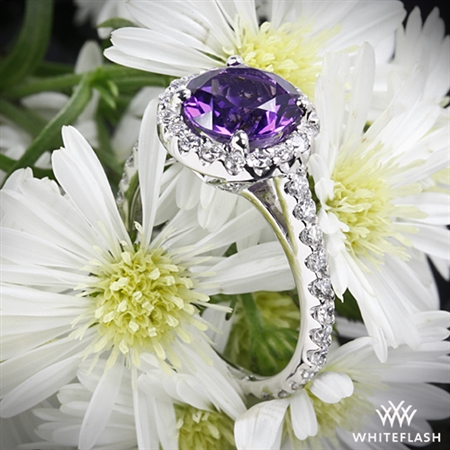 Amphora Amethyst Diamond Right Hand Ring