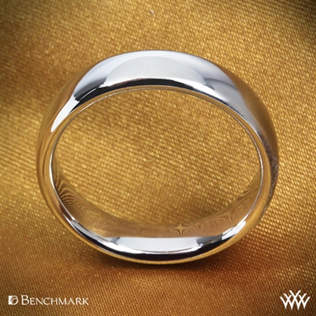 Benchmark European Comfort Fit Wedding Ring
