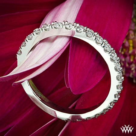 French-Set Diamond Wedding Ring
