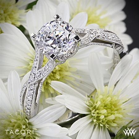 Tacori 2565SM Ribbon Diamond Engagement Ring