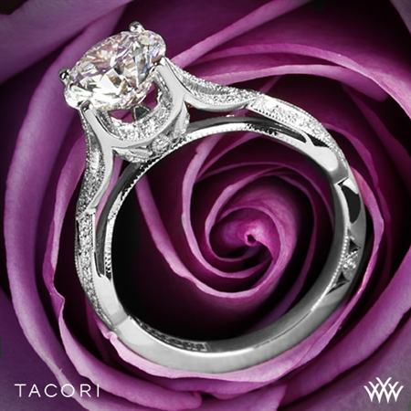 Tacori 2565MD Ribbon Diamond Engagement Ring