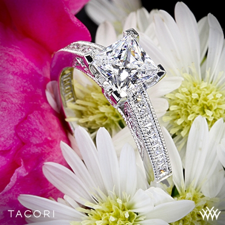 Tacori 2576SM PR Simply Tacori Diamond Engagement Ring