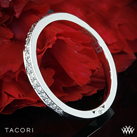 Tacori 2630BMD P Dantela Medium Pave Diamond Wedding Ring