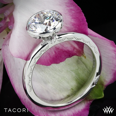 Tacori 300-25RD Starlit Classic Bezel Solitaire Engagement Ring