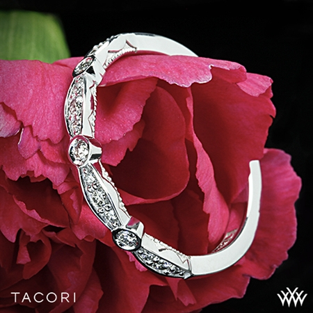 Tacori 47-2 Sculpted Crescent Marquise Shape Diamond Wedding Ring