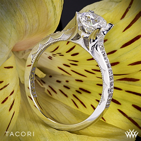 Tacori 58-2RD Sculpted Crescent Grace Diamond Engagement Ring
