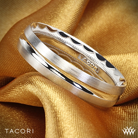 Tacori 72-5WS Sculpted Crescent Satin Wedding Ring