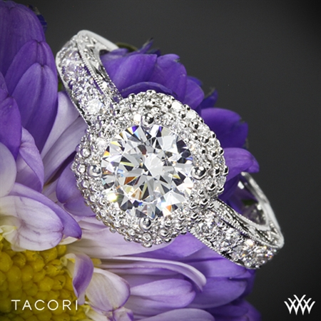 Tacori HT2520CU Blooming Beauties Diamond Engagement Ring