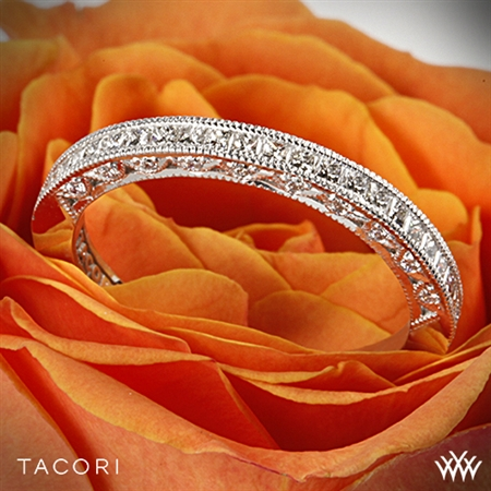 Tacori HT2430SMB Classic Crescent Diamond Wedding Ring