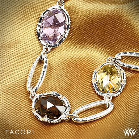 Tacori SB105 Oval Color Medley Single Strand Bracelet
