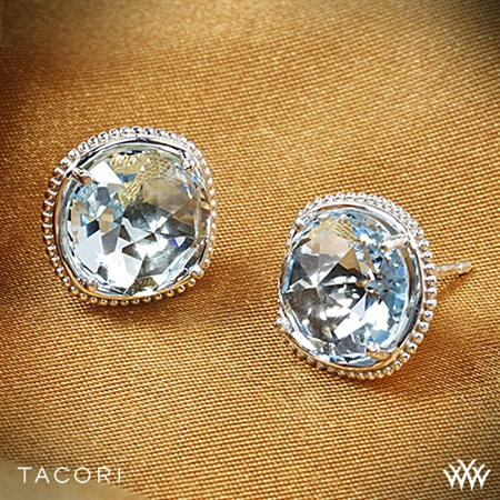 Tacori SE15602 Island Rains Sky Blue Topaz Stud Earrings