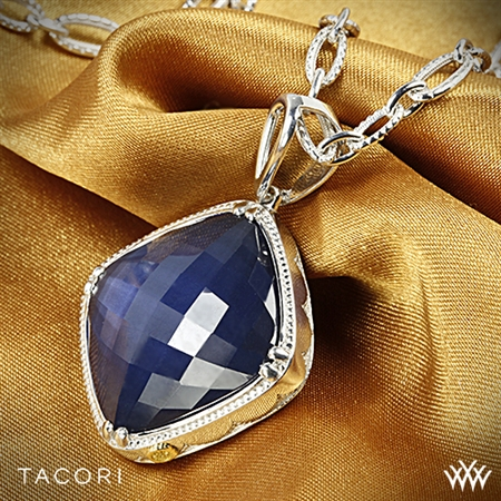 Tacori SN15735 City Lights Blue Quartz over Hematite Necklace