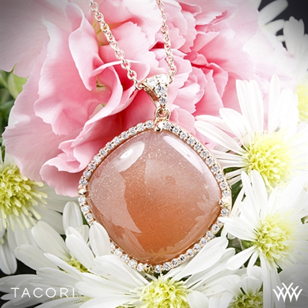Tacori SN178P36 Moon Rosé Cushion Necklace