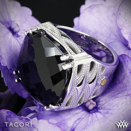 Tacori SR13119 Classic Rock Black Onyx Ring