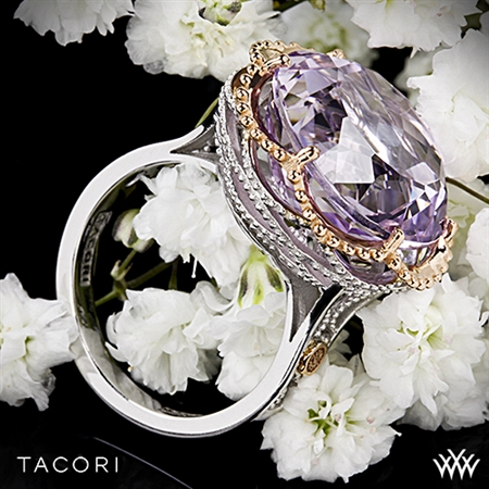 Tacori SR105P13 Blushing Rose Amethyst Ring