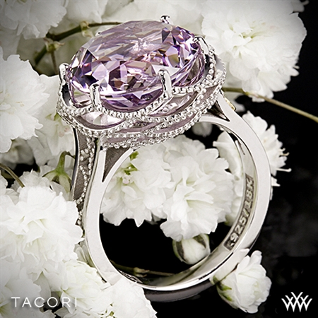Tacori SR12313 Blushing Rose Amethyst Ring