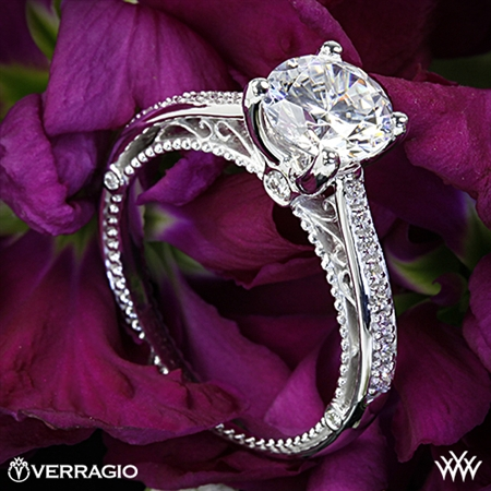 Verragio Venetian Centro AFN-5047RD-1 Diamond Engagement Ring
