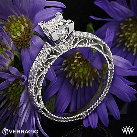 Verragio Venetian Lido AFN-5001P-2 Diamond Engagement Ring for Princess