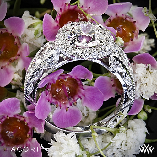Tacori HT2521RD Blooming Beauties Double Bloom Diamond Engagement Ring