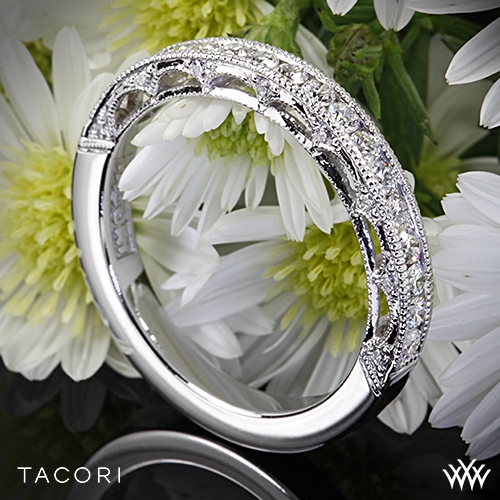 Tacori HT2510B Reverse Crescent Star Diamond Wedding Ring