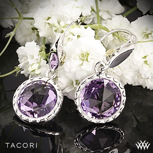 Tacori SE15501 Lilac Blossoms Amethyst Earrings
