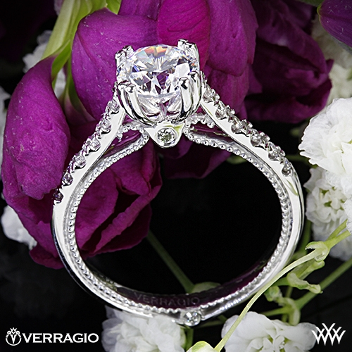 Verragio ENG-0414R Dual Claw Diamond Engagement Ring