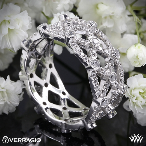 Verragio WED-4022 Eternal Lace Diamond Wedding Ring