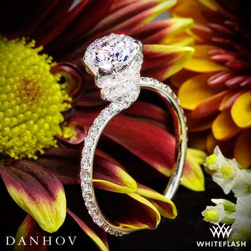 Danhov AE107 Abbraccio Diamond Engagement Ring