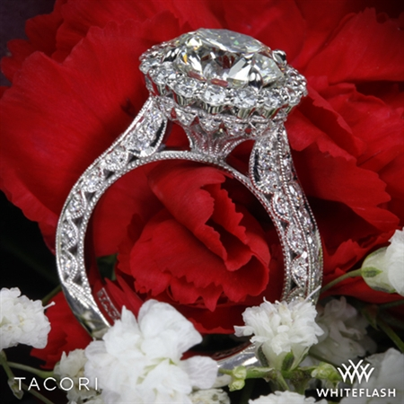 Tacori HT2605RD RoyalT Bloom Diamond Engagement Ring