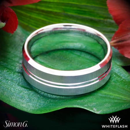 Simon G. LG152 Men's Wedding Ring
