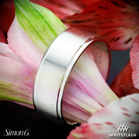 Simon G. LG154 Men's Wedding Ring