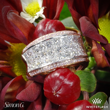 Simon G. MR1902 Simon Set Diamond Right Hand Ring