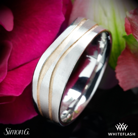 Simon G. MR2656 Men's Wedding Ring