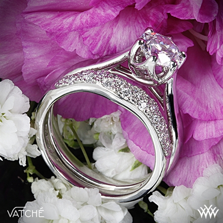 Vatche 119 Royal Crown Diamond Wedding Set