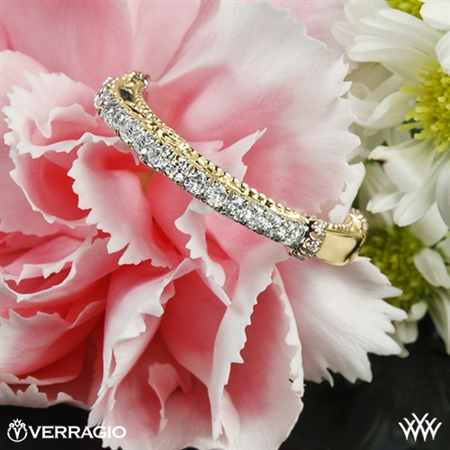 Verragio Parisian CL-DL-124W Rounded Shared-Prong Diamond Wedding Ring