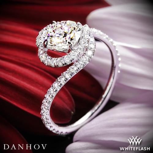 Danhov AE100 Abbraccio Diamond Engagement Ring - Whiteflash | 3813