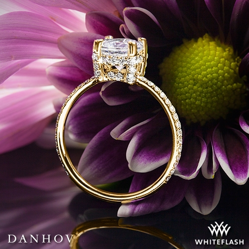 Danhov CL120 Classico Single Shank Diamond Engagement Ring