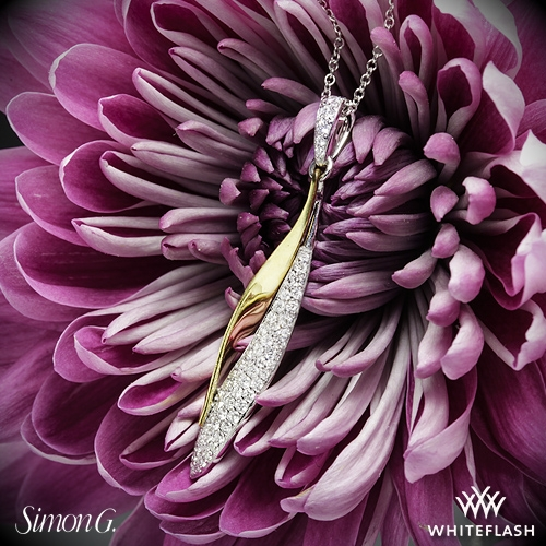 Simon G. DP198 Diamond Pendant