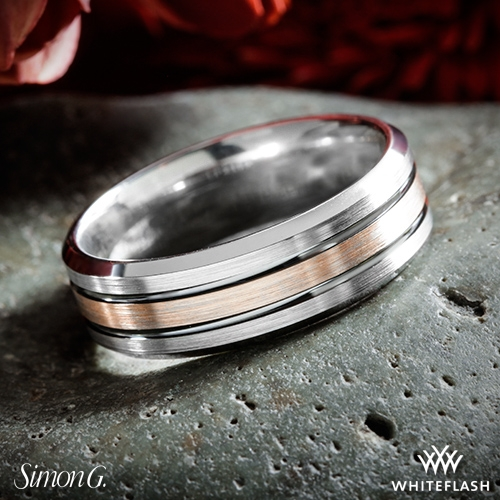 Simon G Lp2189 Men S Wedding Ring 4633
