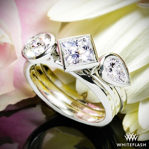 Various Bezel Set Solitaire Rings