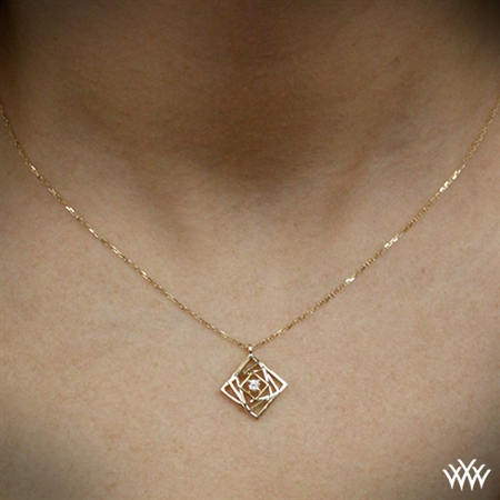 Progression Diamond Charm Pendant