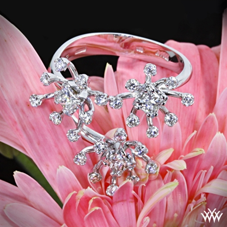 Princess Blossom Diamond Right Hand Ring
